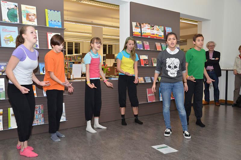 Originell: Die Caba Kids, das Luzerner Kinderkabarett.