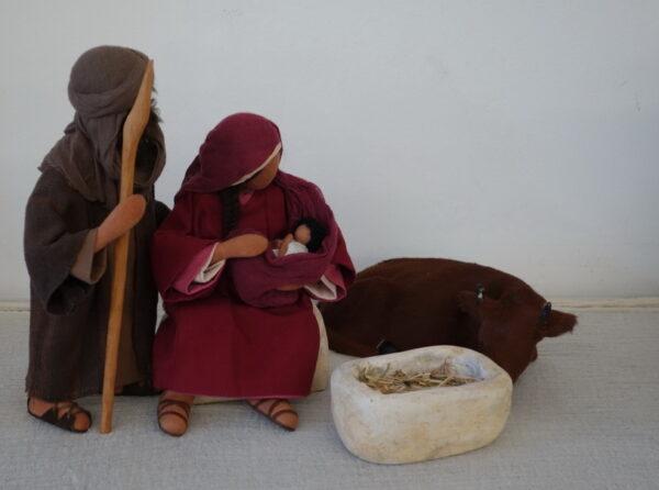 Biblische Figuren Schwarzenberg von Claudia Oeschger